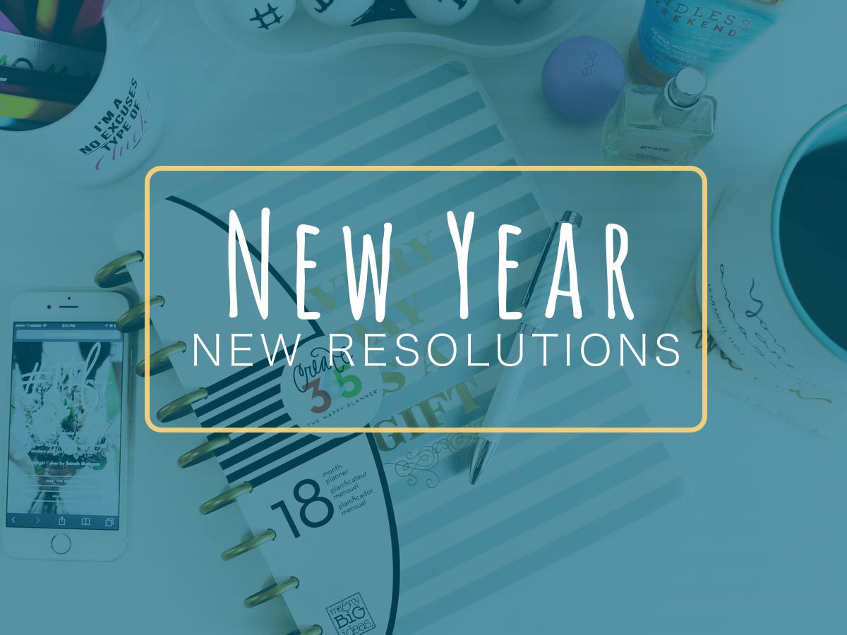 New Year, New Resolutions - new year - New Year, New Resolutions