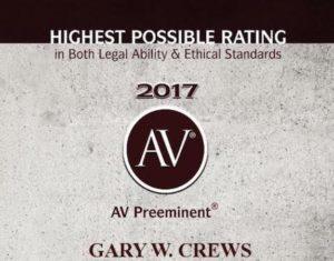 Probat Lawyer Tulsa, OK Gary Crews  - AVPreeminent short 3 300x235 - Tulsa Probate Lawyer