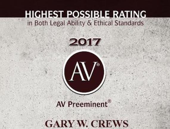 Tulsa Law and Estate Planning gary w. crews pllc. | tulsa probate attorney - AVPreeminent short 4 - Gary W. Crews PLLC. | Tulsa Probate Attorney