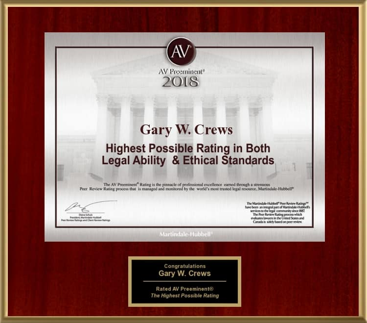 Tulsa Probate Attorney Gary Crews gary w. crews pllc. | tulsa probate attorney - MH 2018 - Gary W. Crews PLLC. | Tulsa Probate Attorney